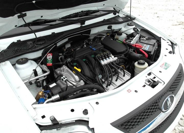 Газовое оборудование на автомобиль лада ларгус
